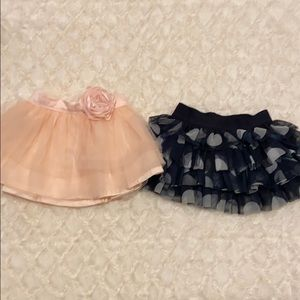 Carters skirt Set